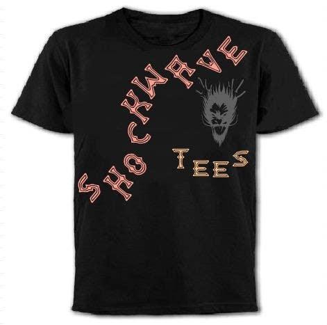 Inscrição nº                                         109                                      do Concurso para                                         Logo Design for T-Shirt Company.  ShockWave Tees