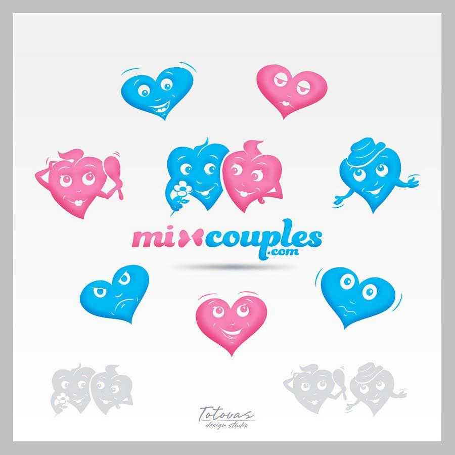 Inscrição nº                                         609                                      do Concurso para                                         Logo Design for mixcouples.com