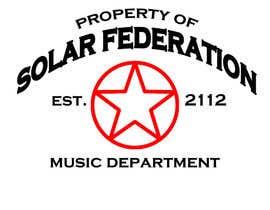 filmmakerdude tarafından Solar Federation T-Shirt için no 1