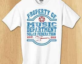 shyckze tarafından Solar Federation T-Shirt için no 45