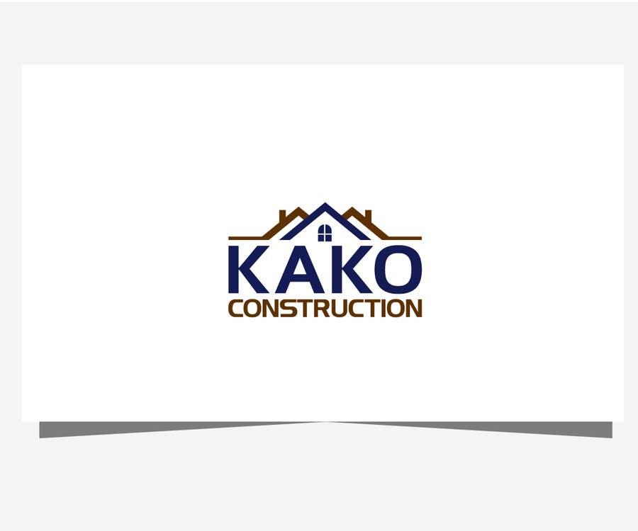 Construction company logo design