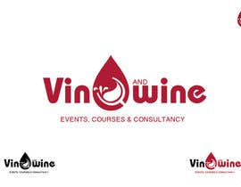 #117 para Logo Design for Vin & Wine - events, courses & consultancy por vndesign2011