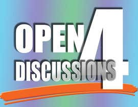 """#20 cho Design a Logo for """"Open 4 Discussion"""" bởi whyusoseriousss"""