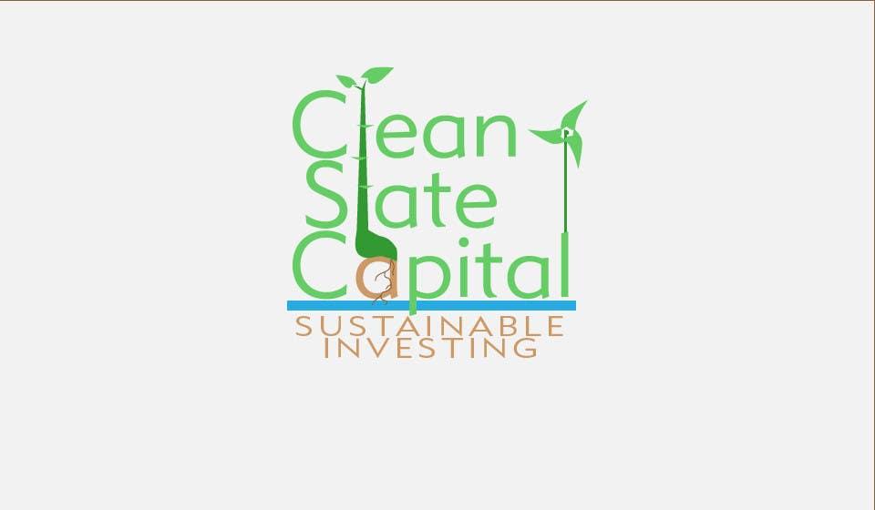 Bài tham dự cuộc thi #                                        37                                      cho                                         Design a Logo for Clean Slate Capital