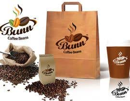 #143 para Logo Design for Bunn Coffee Beans por twindesigner