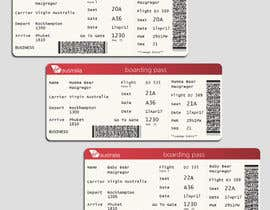 #3 for Make up three virgin Australia boarding passes. by vaseealeem