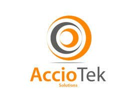 #58 for Design a Logo for AccioTek Solutions, an IT consulting firm. af kedarjadhavr