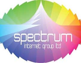#40 para Logo Design for Spectrum Internet Group LTD por IJNLLC