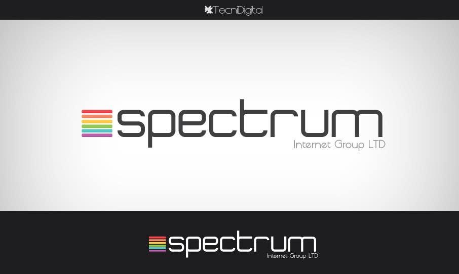 Penyertaan Peraduan #13 untuk Logo Design for Spectrum Internet Group LTD