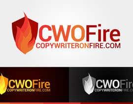 Jaylmyersco tarafından Logo for Copywriteronfire.com için no 4