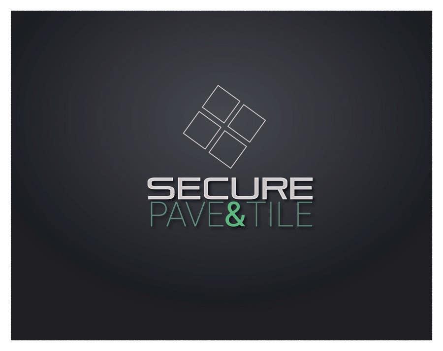 Kilpailutyö #32 kilpailussa Logo Design for Secure Pave & Tile