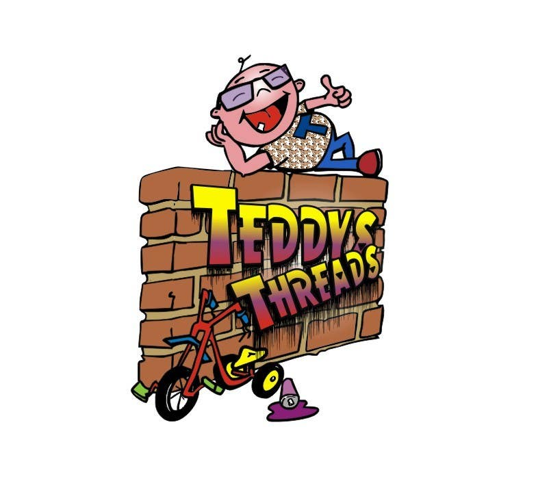Logo Design for Teddy's Threads