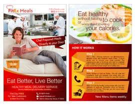 Sevensad80 tarafından Design a Flyer For FitEx Meals için no 13