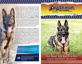 anilayout2 tarafından Design a Brochure for Off Leash K9 Training, Central MN -- 2 için no 7