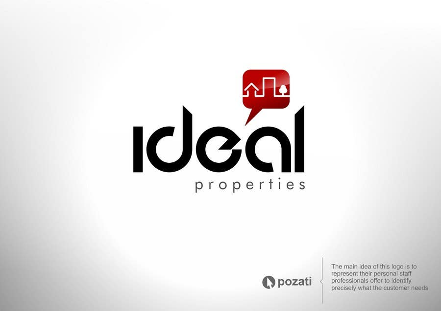Contest Entry #13 for Graphic Design for iDeal Properties