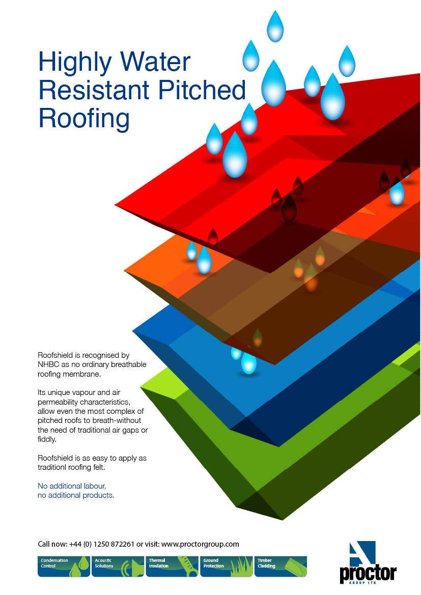 #13 for Design an Advertisement for Roofshield 2014 by MOHR