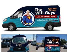 andreasaddyp tarafından In need of a vintage van wrap design for a wifi service company için no 10