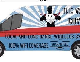 danielaandino tarafından In need of a vintage van wrap design for a wifi service company için no 1