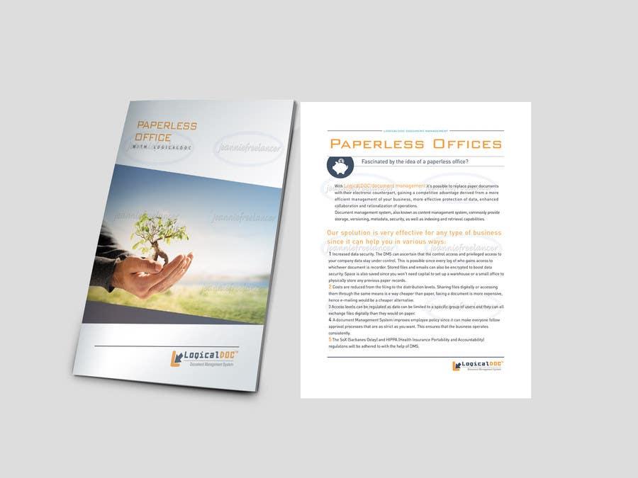 Konkurrenceindlæg #                                        13                                      for                                         A4 Brochure design for Marketing