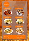 Bài tham dự #5 về Graphic Design cho cuộc thi Design a Flyer for a new indian snack menu