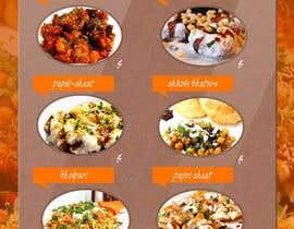 #5 cho Design a Flyer for a new indian snack menu bởi missharukochan