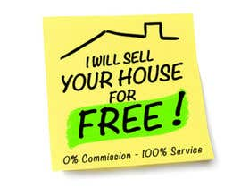 Doremy tarafından Logo Design for I Will Sell Your House For Free için no 188