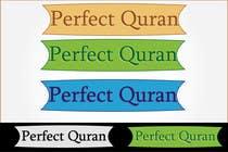 Graphic Design Inscrição do Concurso Nº376 para Logo Design for PerfectQuran