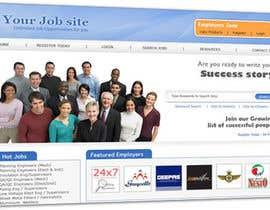 Nambari 26 ya E@SY - Design a Few Web Pages for Website Mockup for Job Board & FORGET Monster.com na kanwarwebdev