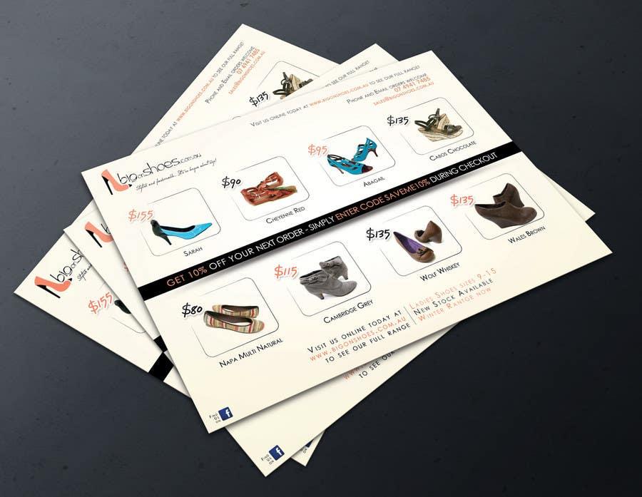 Конкурсная заявка №58 для Brochure Design for Big On Shoes- Online Shoe Retailer