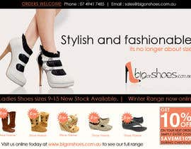 #56 untuk Brochure Design for Big On Shoes- Online Shoe Retailer oleh designerartist