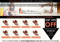 Graphic Design Contest Entry #46 for Brochure Design for Big On Shoes- Online Shoe Retailer
