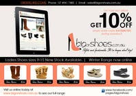 Graphic Design Contest Entry #110 for Brochure Design for Big On Shoes- Online Shoe Retailer