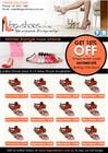 Graphic Design Contest Entry #45 for Brochure Design for Big On Shoes- Online Shoe Retailer
