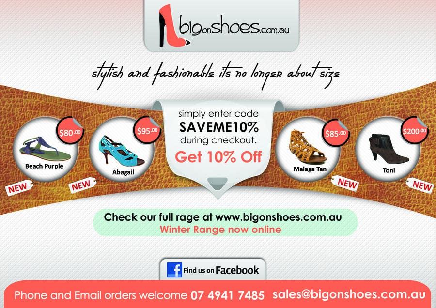 entry 67 by dakshinarts for brochure design for big on shoes