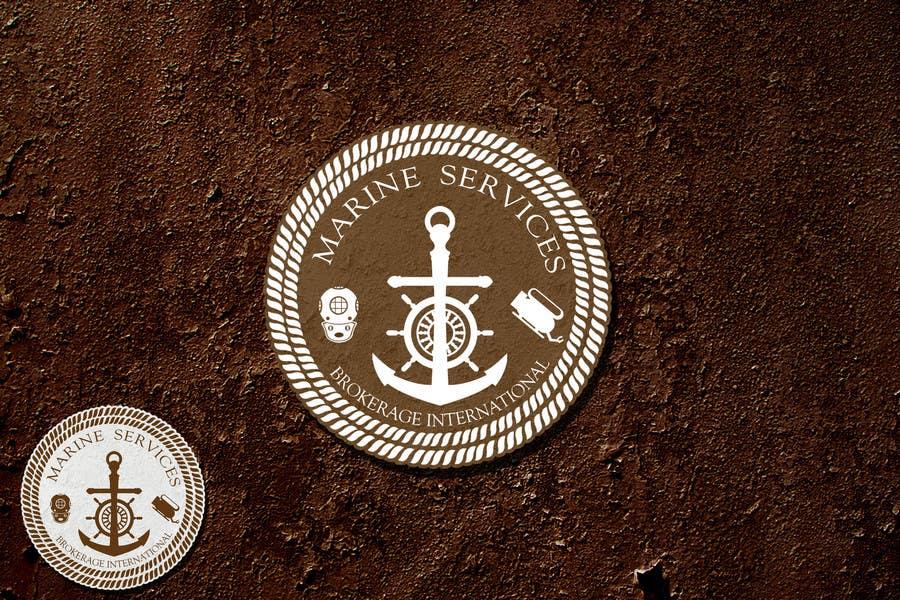 Inscrição nº                                         81                                      do Concurso para                                         Logo Design for Marine Services Brokerage International