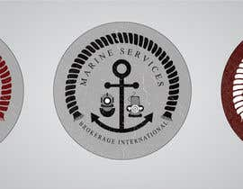#68 untuk Logo Design for Marine Services Brokerage International oleh VCool123