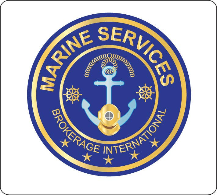 Logo Design for Marine Services Brokerage International