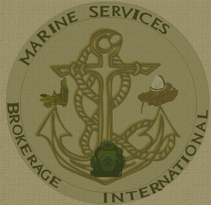Inscrição nº                                         66                                      do Concurso para                                         Logo Design for Marine Services Brokerage International