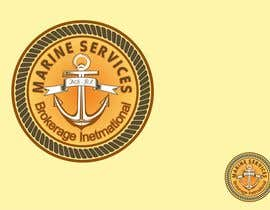 #115 untuk Logo Design for Marine Services Brokerage International oleh spgian