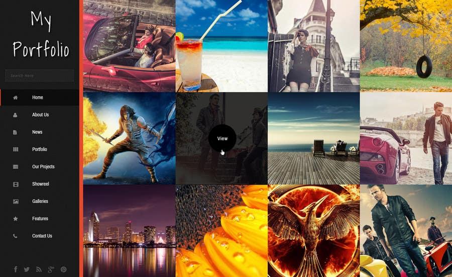 #32 for Design a Website Mockup for Portfolio by priyakkl