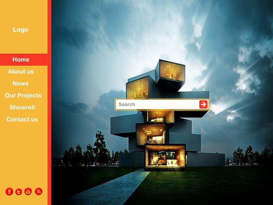 #36 for Design a Website Mockup for Portfolio by oliullah79