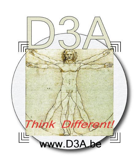 Bài tham dự cuộc thi #                                        4                                      cho                                         Ontwerp een Logo for D3A