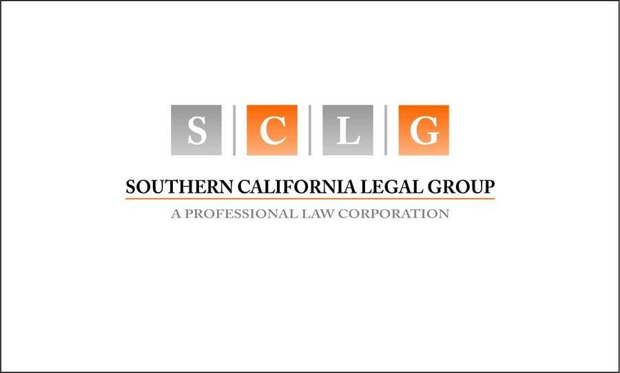 Inscrição nº 360 do Concurso para Logo Design for Southern California Legal Group