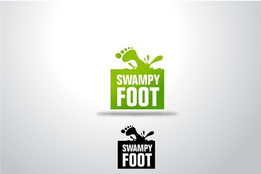 Kilpailutyö #282 kilpailussa Logo Design for SwampyFoot