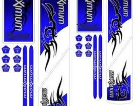 Design Cricket Bat Sticker Sets Freelancer
