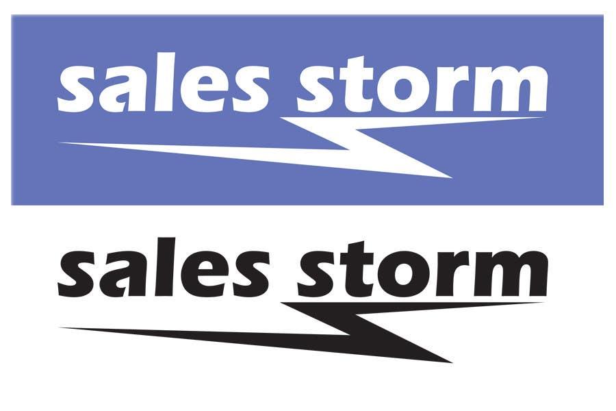 Contest Entry #                                        35                                      for                                         Logo Design for SalesStorm