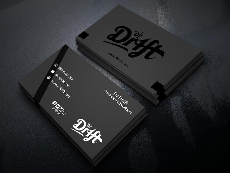 Entry #88 by NayeemaSiddiqua for Design Sleek Elegant Business Card ...
