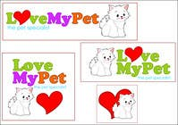 Graphic Design 参赛作品 #33 for Logo Design for Love My Pet