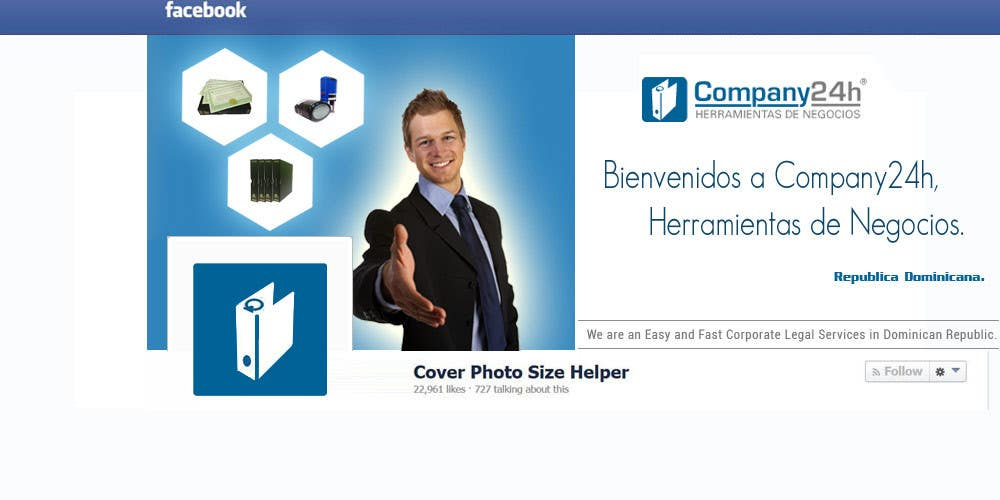#69 for Design a Cover Photo for Facebook by guruwebsite