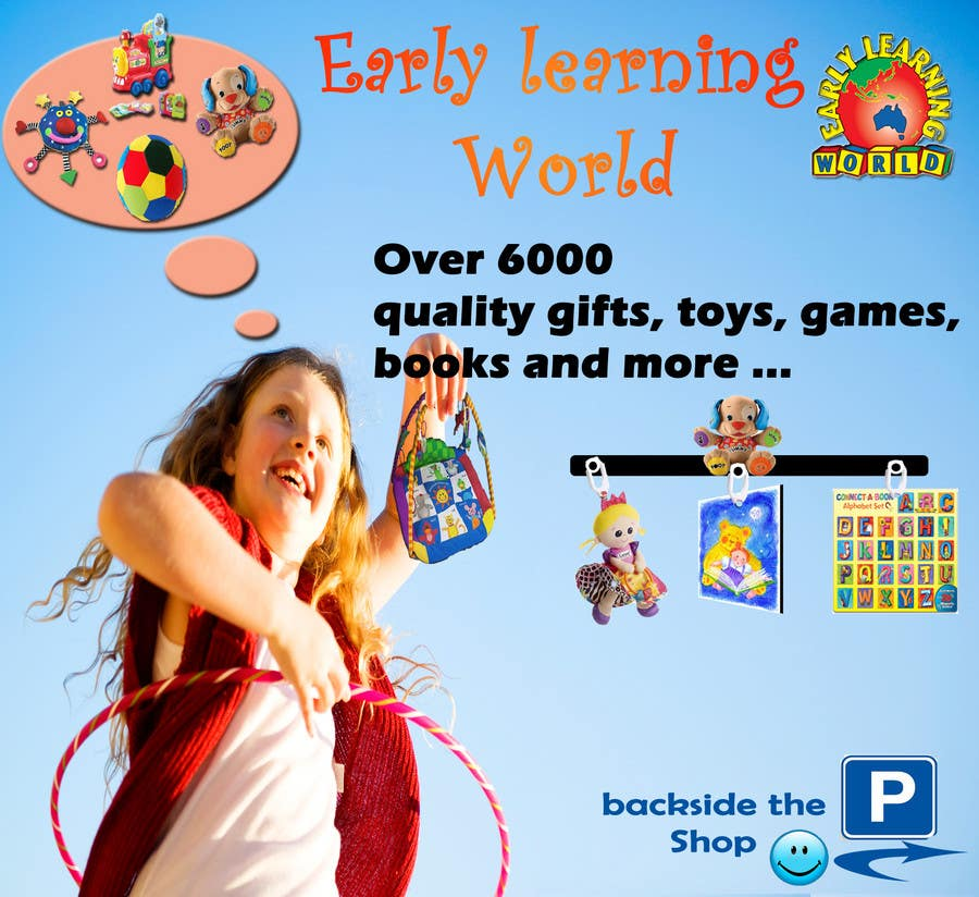 Proposition n°                                        48                                      du concours                                         Banner Ad Design for Early Learning World UPDATED